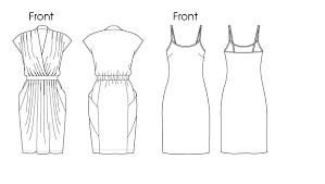 vogue patterns 1287 misses dress and slip