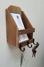 Mail And Key Holder Home Blue Fox Furnishings