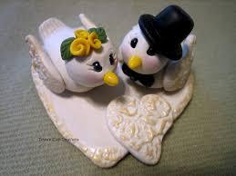 dove cake topper wedding cake topper dove birds white dove custom polymer