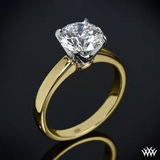 solitaire rings gold images Broadway solitaire engagement ring 505 jpg