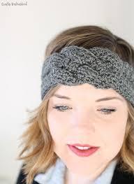 crochet headbands crochet headband pattern with sailor knot detail