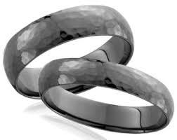 black gold wedding rings black gold ring etsy