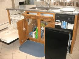 corner cabinet kitchen storage simple white wooden counter soft