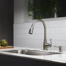 Single Lever Pull Out Kitchen Faucet by Kitchen Faucet Kraususa Com