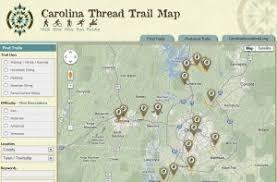 map the carolina thread trail