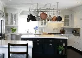black island kitchen white kitchen with black island morespoons 54058ea18d65