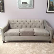 Chloe Velvet Tufted Sofa Catosfera Net
