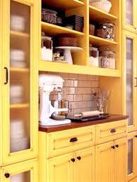 Vintage Metal Kitchen Cabinets Vintage Yellow Kitchen Cabinets Kitchen