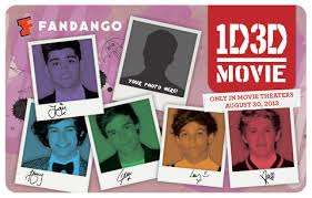 one direction cards exclusive one direction fandango gift cards now on sale plus a