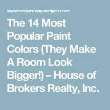 make any room look bigger with these 14 most popular paint colors