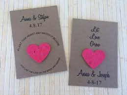 seed paper favors wedding favors favor universe