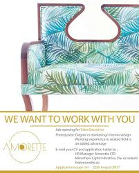 Interior Design Sales Jobs by Job Opportunity Amorette Sales Excutive Alphaigogo Com