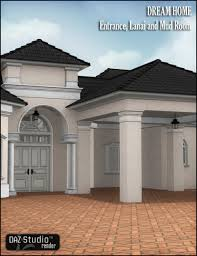 dream home entrance lanai and mud room 3d models and 3d software