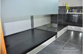 italienne receveur receveur de en palaos shadow 120x80 granit noir