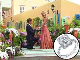 neil emerald cut engagement rings bachelorette emily maynard s dueling neil engagement rings