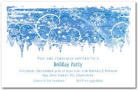 christmas invitations swirling snowflakes invitation christmas invitations