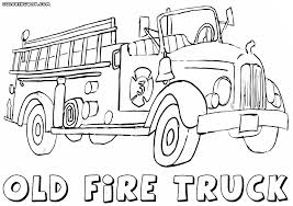 fire truck coloring pages coloring pages download print