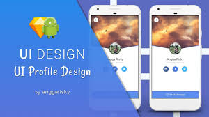 tutorial android xml profile ui sketch app to android xml tutorial youtube