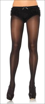 plus size sheer to waist opaque tights 0992q