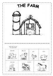 the farm worksheet by sophia13