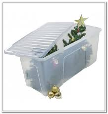 Christmas Ornament Storage Boxes Lowes by Christmas Tree Storage Container Lowes Home Design Ideas