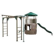 Metal Playsets Amazon Com Lifetime Products Adventure 90630 Tower Deluxe