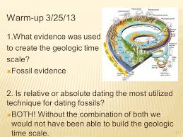 Geologic Time Scale Worksheet Warm Up 3 19 13 The Earth Is An Estimated 4 6 Billion Years Old 1