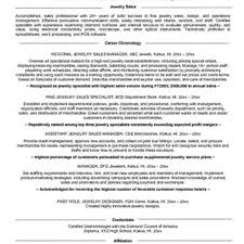 Sample Resume For Jewelry Sales Associate by Jewellery Sales Resume Sales Sales Lewesmr