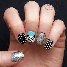 penguin nail art the little canvas