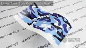 blue camo jeep metro large baby blue camouflage vinyl wrap film youtube