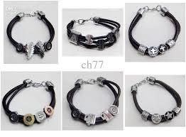 mens bracelet charms images Jewelry bracelets alloys ornaments silver white color leather many jpg