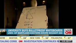 Maryland how far can a bullet travel images Maryland university buying bulletproof whiteboards to protect jpg