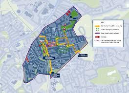 easton map easton safer streets travelwest