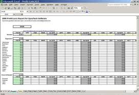 Simple Profit And Loss Excel Template Profit Loss Report Spreadsheet Excel Spreadsheet Dynotech