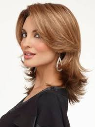 wigs medium length feathered hairstyles 2015 haircuts with feathered back sides and bangs google search