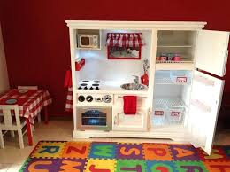tv cabinet kids kitchen tv stand kids kitchen converted cabinet into a play kitchen made