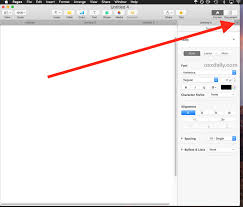 how to use tabs in pages for mac