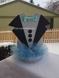 Boy Baby Shower Centerpieces by Little Man Centerpiece Baby Tuxedo Centerpiece Boy Baby Shower