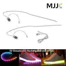 Led Strip Lights Battery Powered Dream Color Led Strip Light Rgb Smd5050 Flexible 5v Waterproof Led