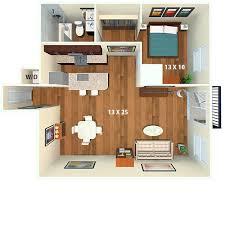 1 Bed 1 Bath Apartment Boulder Creek Apartments Boulder Co Floor Plans