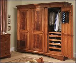 3 Door Closet Countertops Wooden Wardrobe Closets Wooden Wardrobe Closets