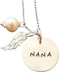 mothers day jewelry personalized s day nana sted necklace
