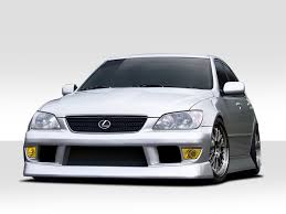 modified lexus is300 2000 2005 lexus is series is300 duraflex b sport body kit 4 piece