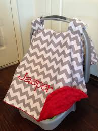 Carseat Canopy For Boy by Personalized Car Seat Canopy Boy Or Carseat Cover