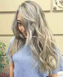 highlights for grey hair pictures 40 ideas of gray and silver highlights on brown hair