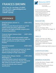 Good Examples Of Resumes by The Best Resume Examples