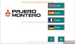 mitsubishi pajero iii 2000 service manual auto repair manual