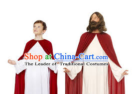 Jesus Halloween Costume Traditional Ancient Greek Costume Dress Clothing