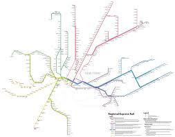 New Jersey New York Map by The New York Central System The New York Central System Regional