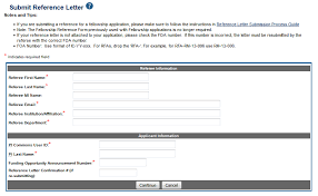 how do i submit a reference letter